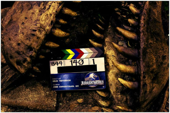 1 ColinTrevorrow JurassicWorld 585 Movie News: Jurassic World Teases a Dinosaur; First Trailer for Nicolas Cages Left Behind