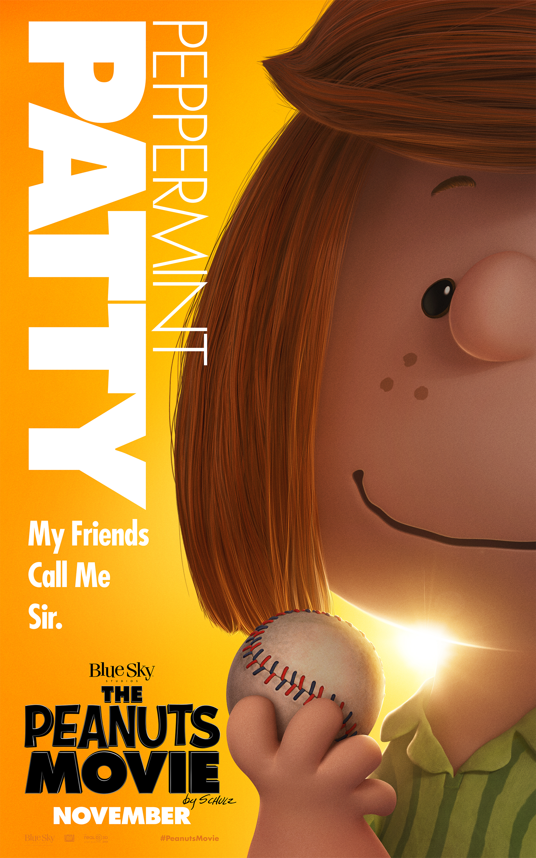 Peanuts Peppermint Patty Banner