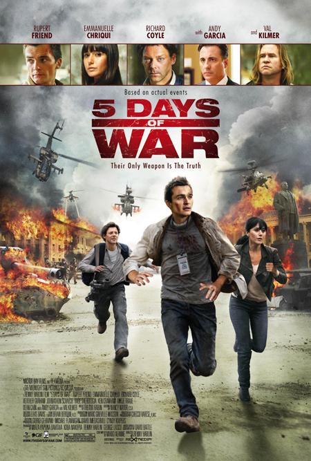 '5 Days of War' Poster Premiere