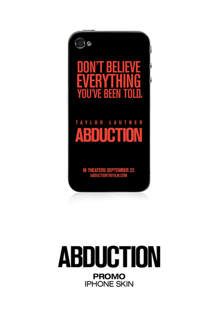 'Abduction' iPhone skin