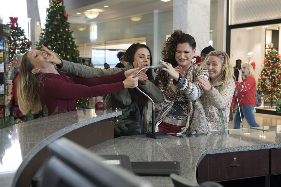 Set Visit: How to Have a Merry Christmas, Bad Moms-Style