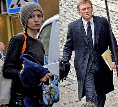 are real busy shooting 'The Girl with the Dragon Tattoo' over in Sweden.