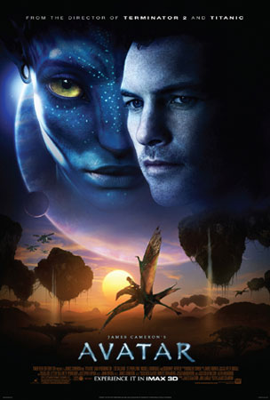 Avatar Movie Poster English. Enter here to win an Avatar: