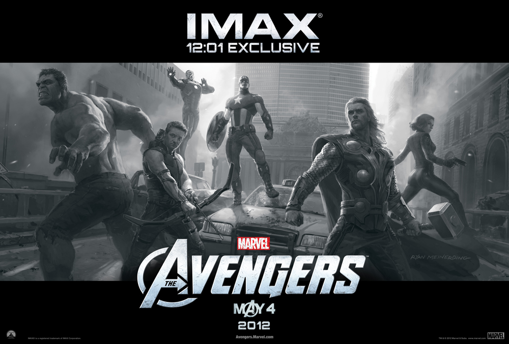 Marvels the avengers signed imax poster giveaway