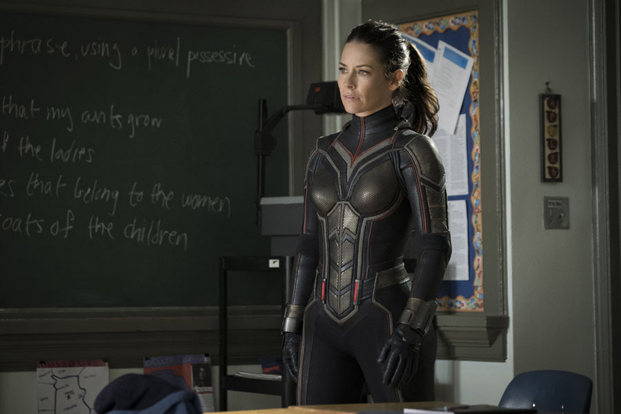 Ant-Man and the Wasp Evangeline Lilly Hope Van Dyne