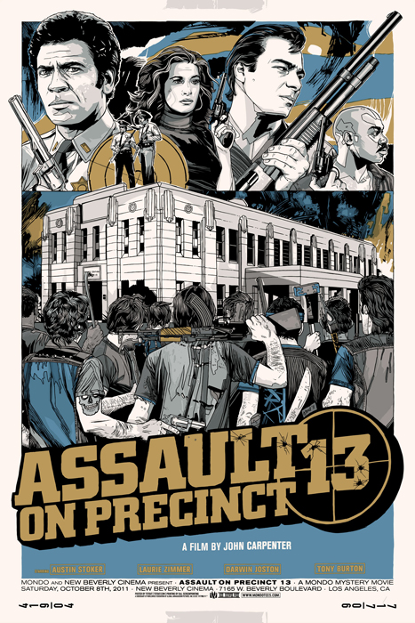 'Assault on Precinct 13' Variant Poster