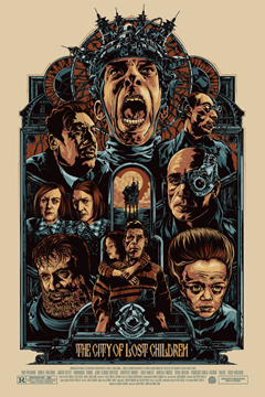 'The City of Lost Children' Regular Poster