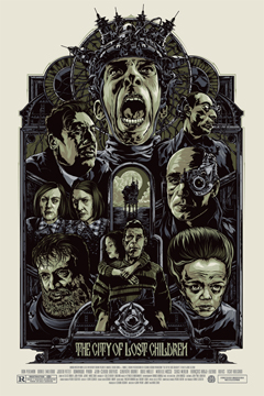'The City of Lost Children' Variant Poster