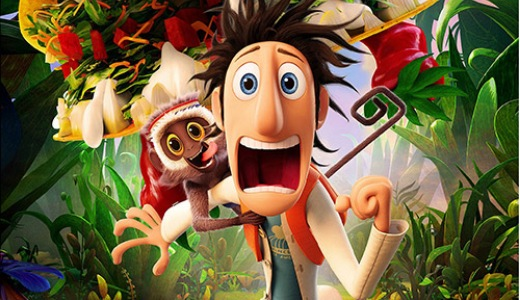 Inventor Flint Lockwood Set Off A Deliciously Epic Food Storm In Sony Picture Animations Film Adaptation Of The Book Cloudy With Chance Meatballs