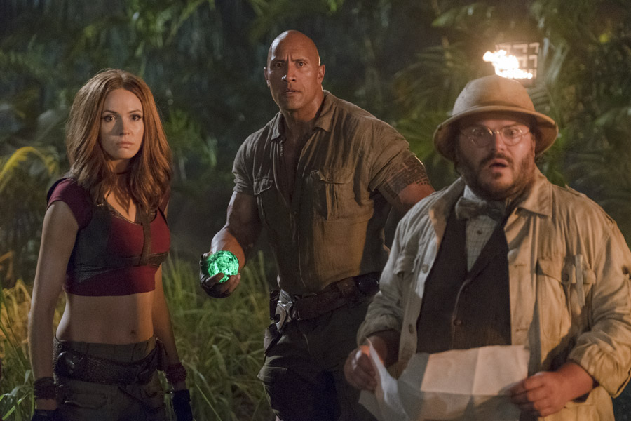 Jumanji: Welcome to the Jungle Karen Gillan Ruby Roundhouse Jack Black Professor Shelly Oberon