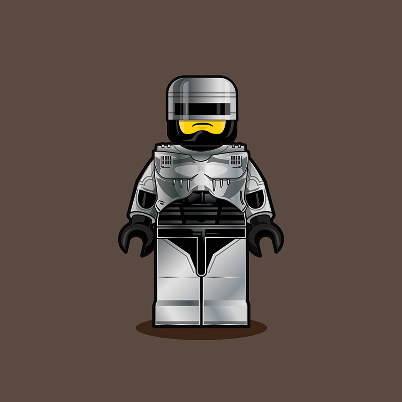 LEGO RoboCop - Showcase - YouTube