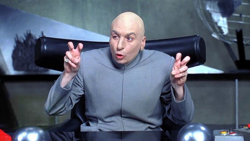 Mike Myers in Austin Powers: International Man of Mystery