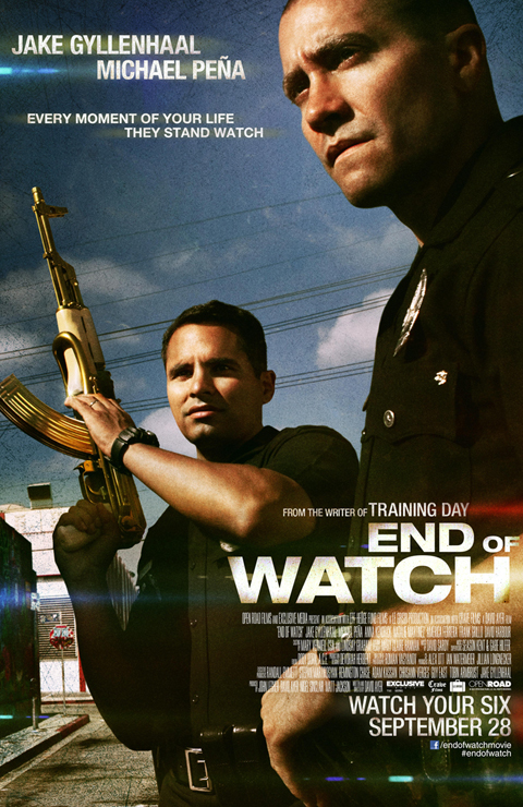 Exclusive: 'End of Watch' Poster Premiere!