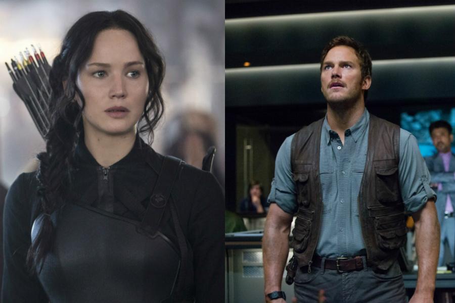 The Hunger Games: Mockingjay - Part 1  /  Jurassic World