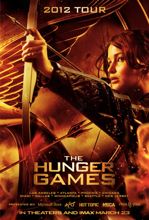 Exclusive Hunger Games Poster