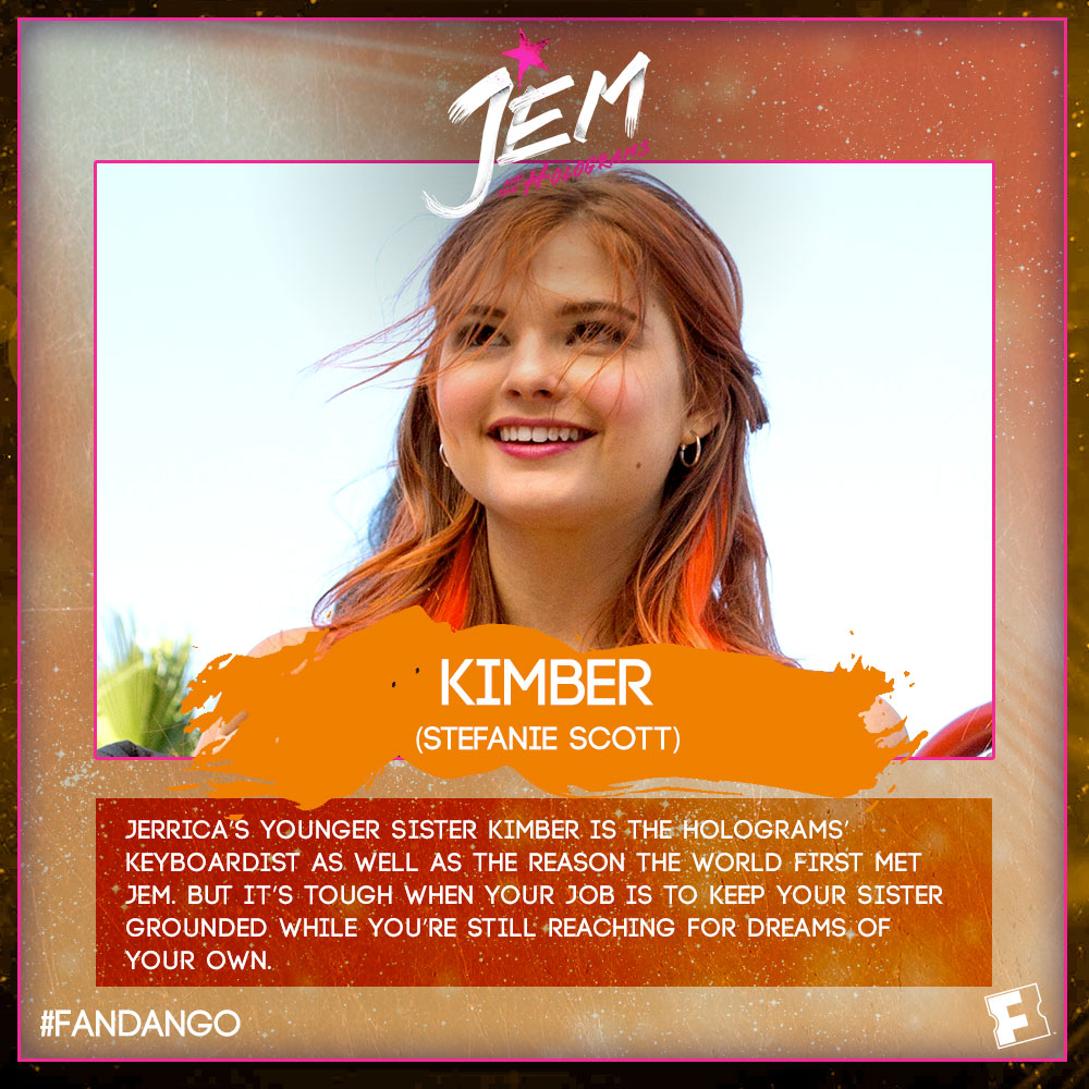 The Ultimate Jem Site - Character Bios