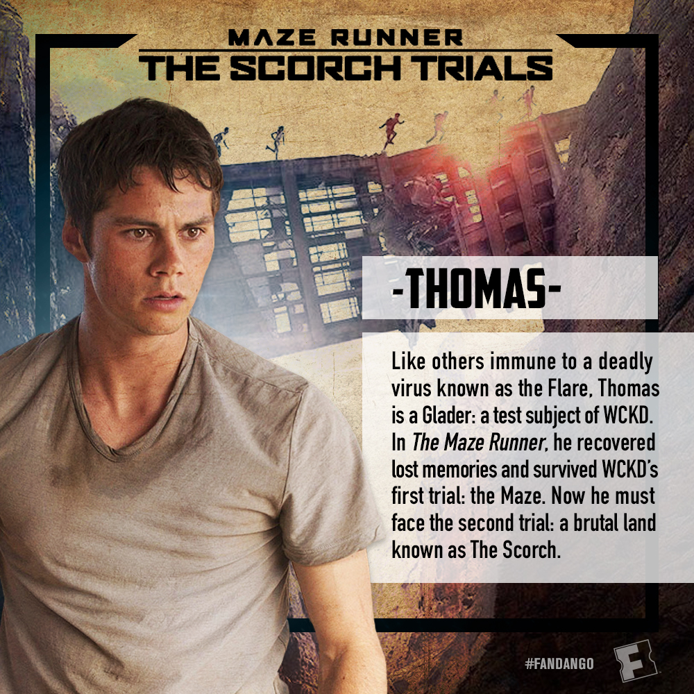 Maze Runner: The Scorch Trials Is In Theaters September 18