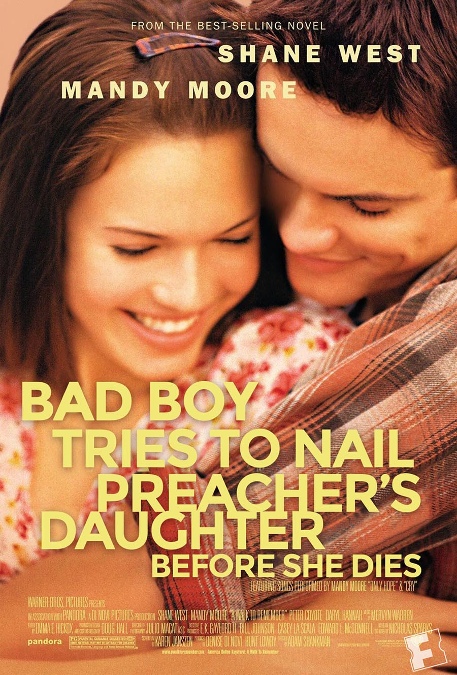 Nicholas Sparks Movies: What They Should Have Been Called ...