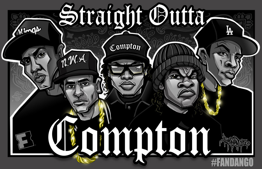 Exclusive Straight Outta Compton Movie Posters