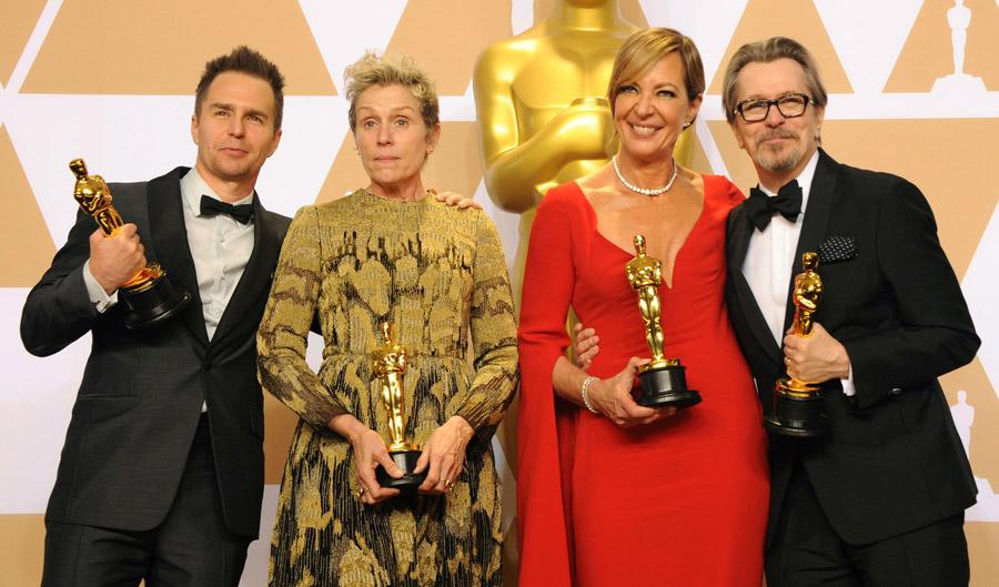 Academy Award Winners 2018 - Actors