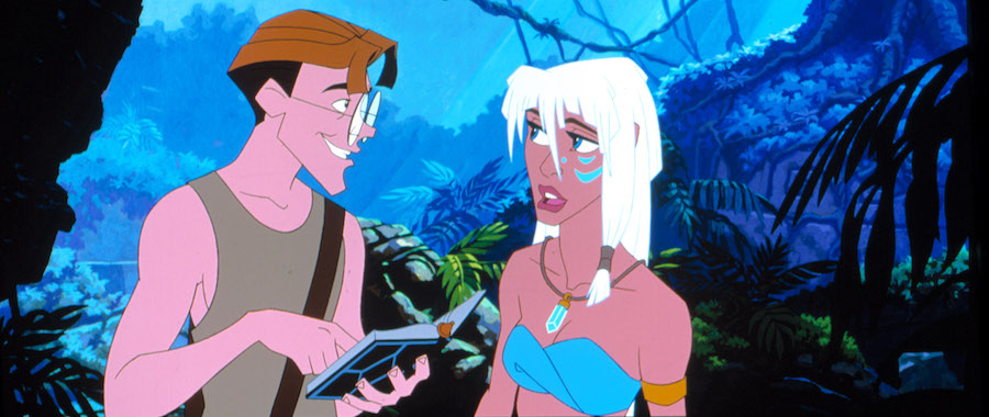 Atlantis: The Lost Empire Kida