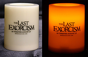 The Last Exorcism candle
