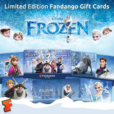 Frozen Fandango gift cards