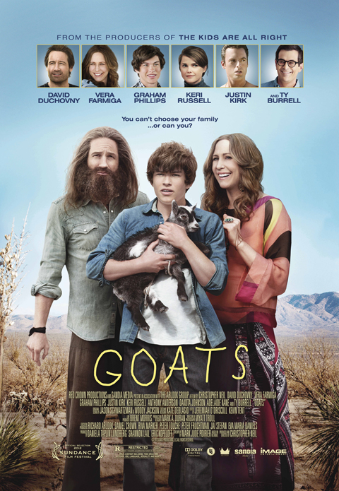 Exclusive: 'Goats' Poster Premiere!