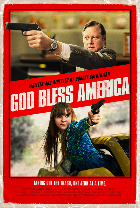 Exclusive: 'God Bless America' poster premiere