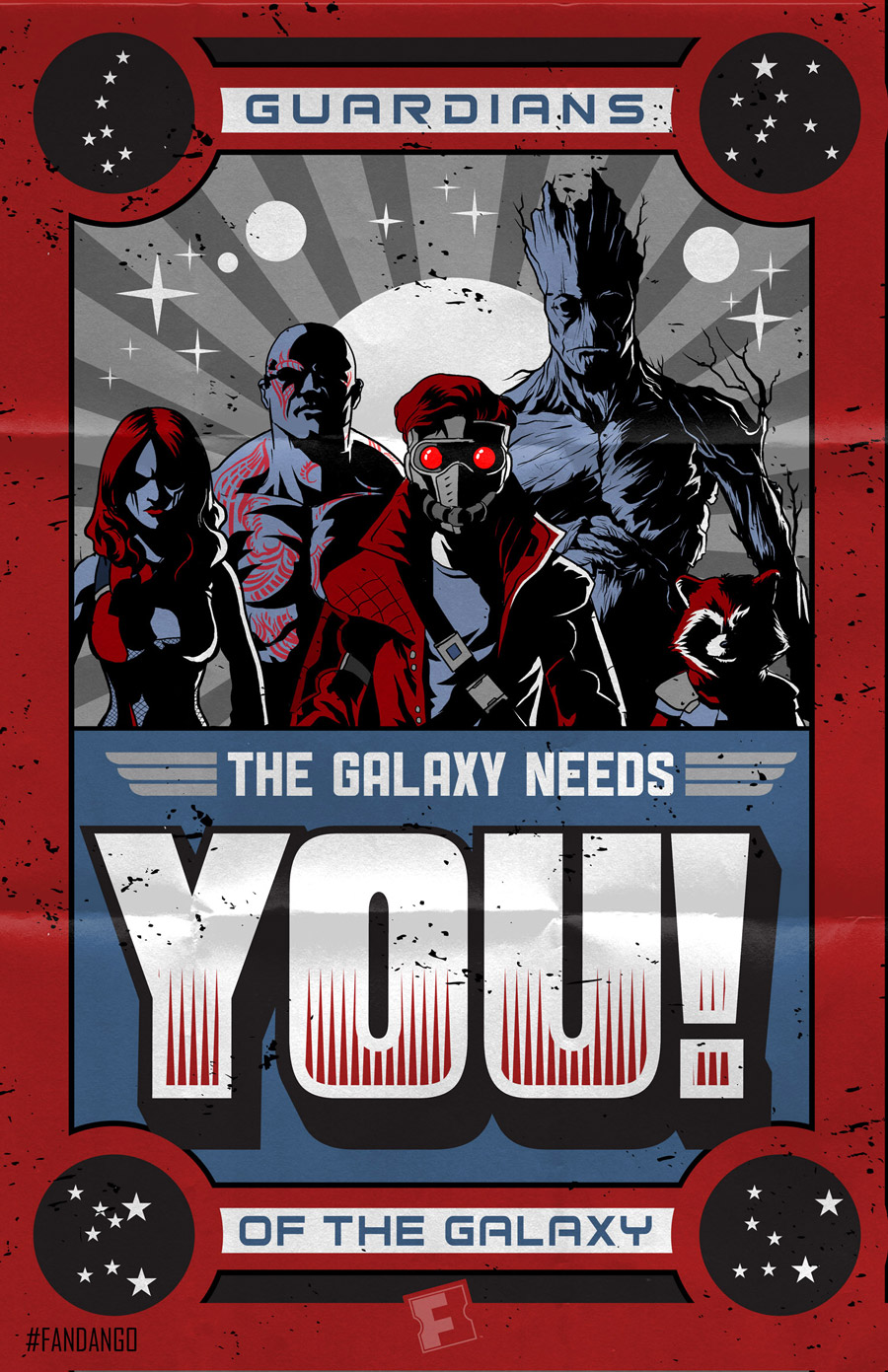 marvel guardians of the galaxy groot rocket star-lord gamora drax