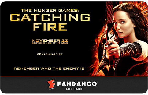 Hunger Games Fandango Gift Card