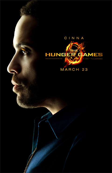 Exclusive: Cinna from 'The Hunger Games' Character Poster Premiere