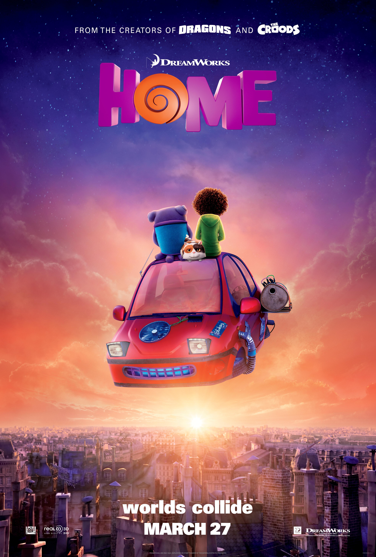 Exclusive   U0026 39 Home U0026 39  Poster Debut