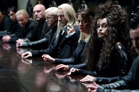 A scene from Harry Potter