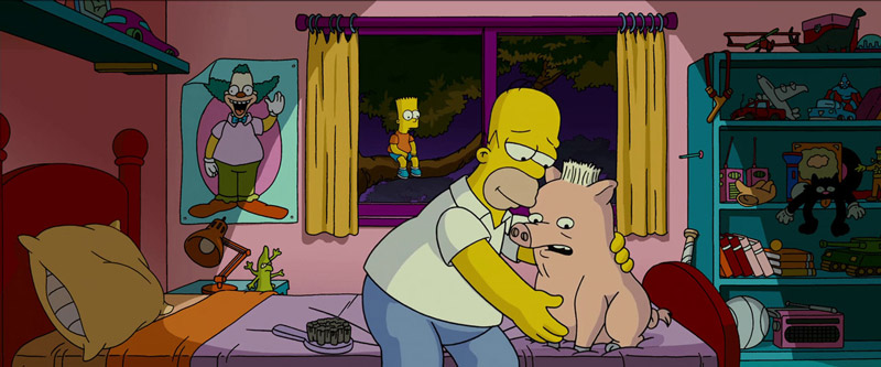 Homer Simpson in The Simpsons