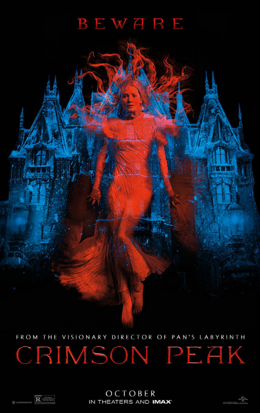 Poster design top 10 - Crimson Peak