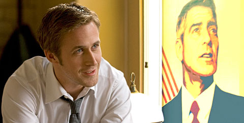 Ryan Gosling in Ides of March.
