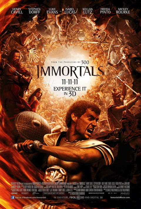 'Immortals' poster