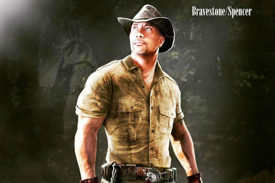 News Briefs: Dwayne Johnson Shares 'Jumanji' Concept Art