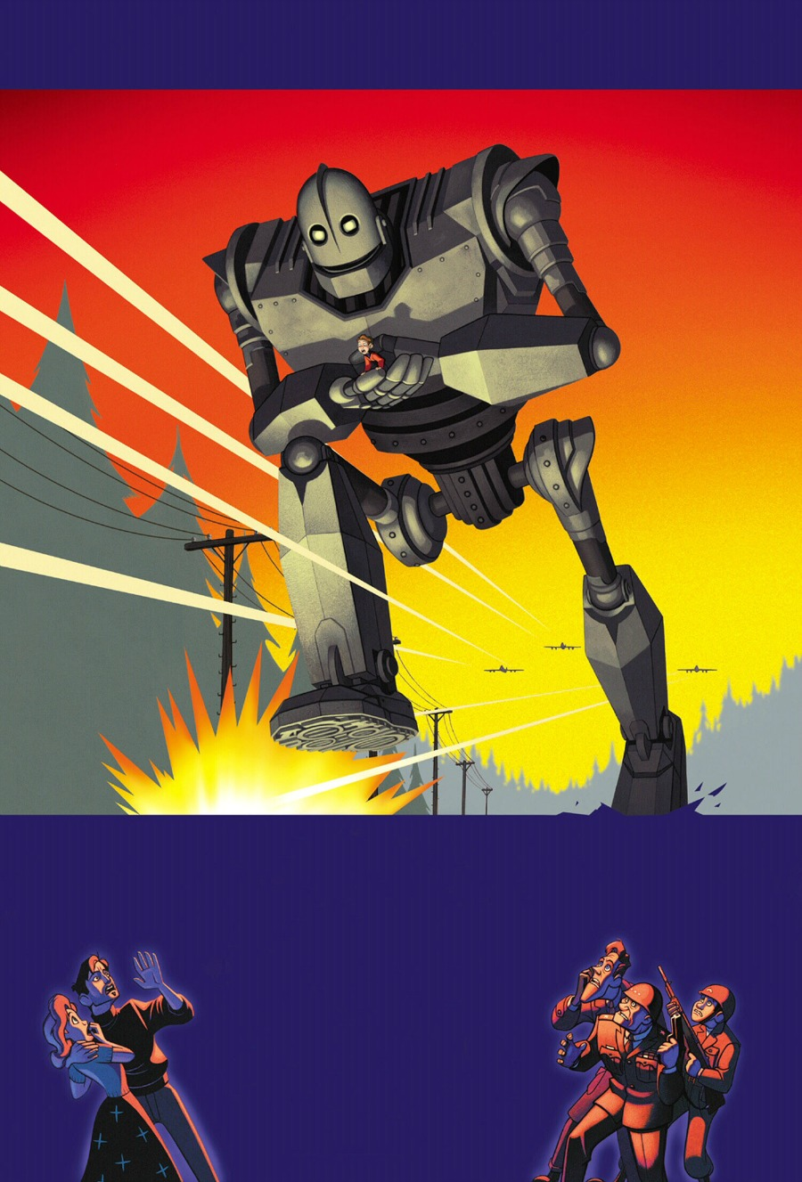 comics mom Iron giant