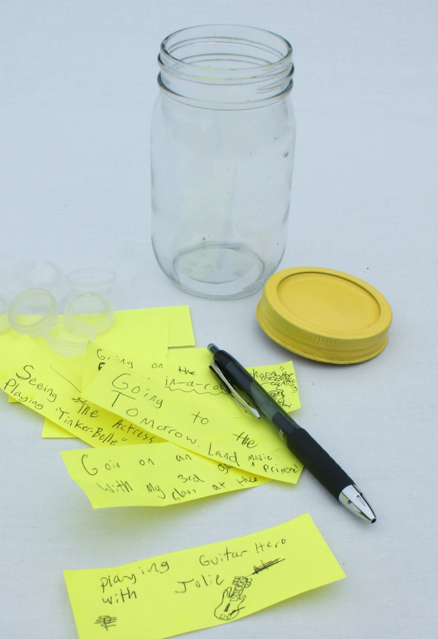 how to clean writing off of cosmetic jars