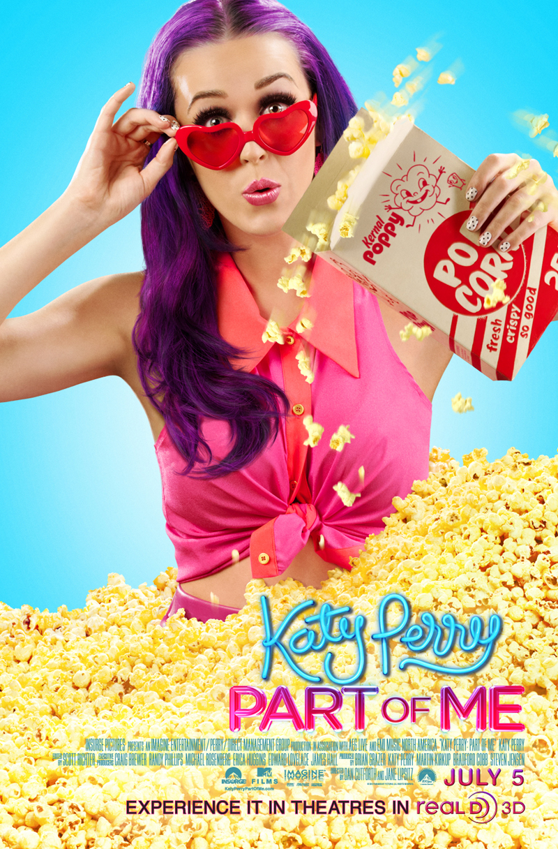 299b41ca Exclusive: 'Katy Perry: Part of Me' Real D 3D Poster Premiere ...