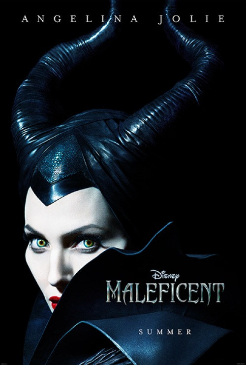 Angelina Jolie Gives Us The Icy Stare In Maleficent Poster