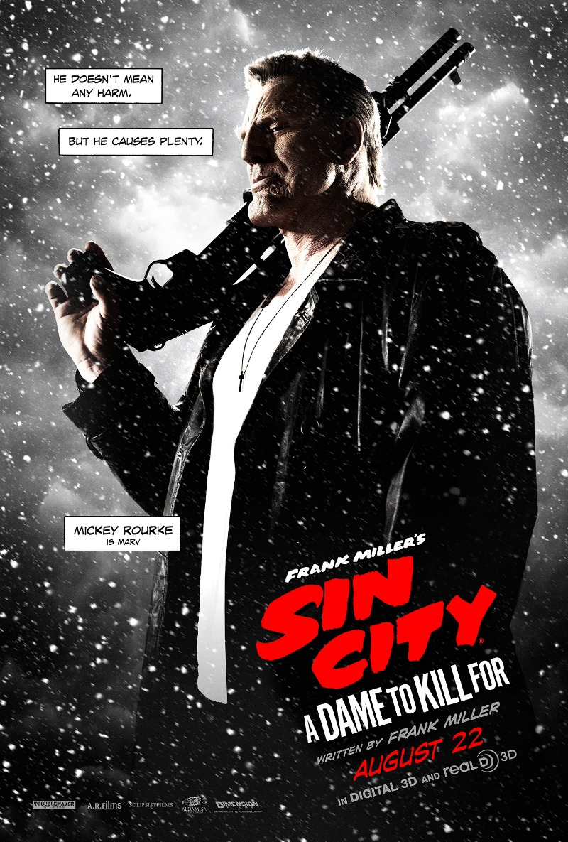 Mickey Rourke in Sin City 2