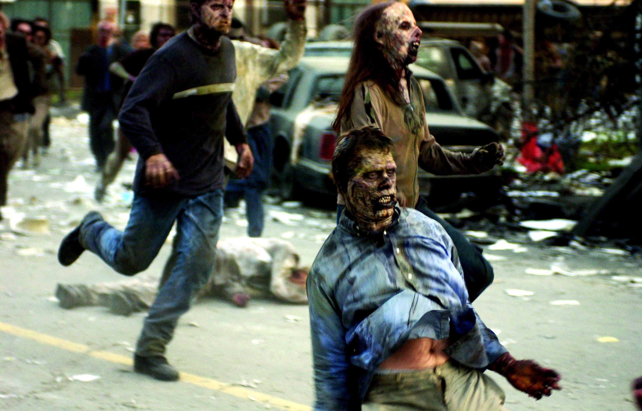 a look at the pop cultural apocalypse through zombies Makeup artists show the evolution of zombies in again to show the evolution of zombies throughout the history of pop culture zombie apocalypse.