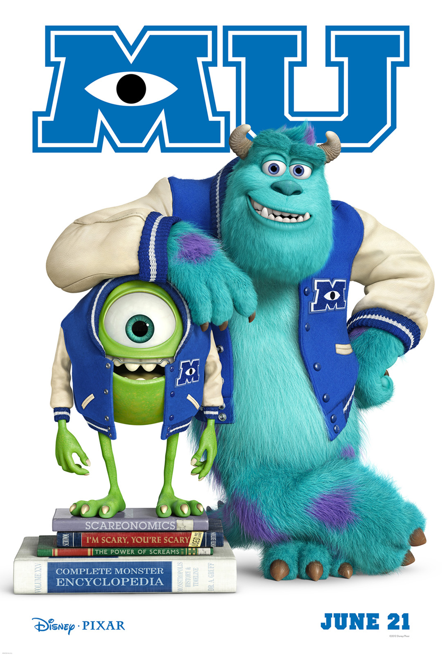 Exclusive: 'Monsters University' Poster Premiere! | Fandango