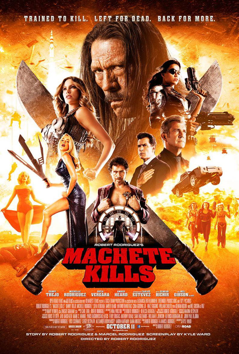 Exclusive: The Gang's All Here in New 'Machete Kills ...