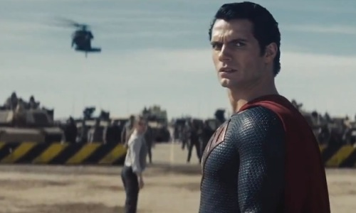 Man of Steel' One Big Scene: Zod's Going to Feel That Punch