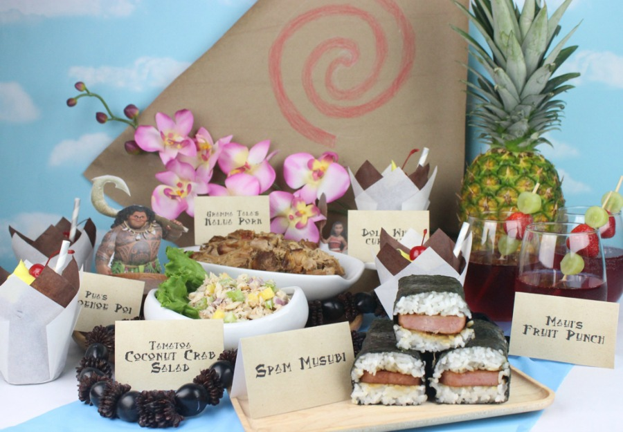 Host A Moana Feast Fit For The Whole Family