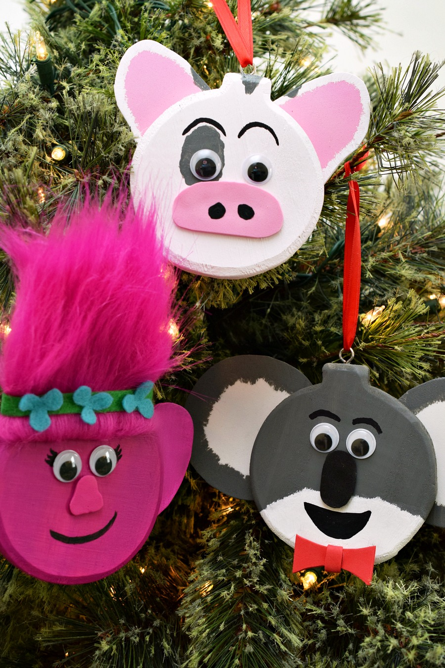 Pig christmas ornaments - Your Movie Inspired Ornaments Are Ready For Their Close Up On Your Christmas Tree